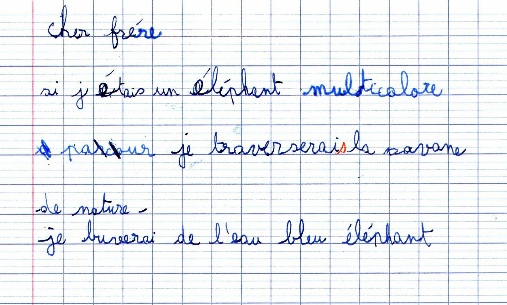 Les Poèmes Rédigés à La Manière De L Senghor En Ce1 Page 6